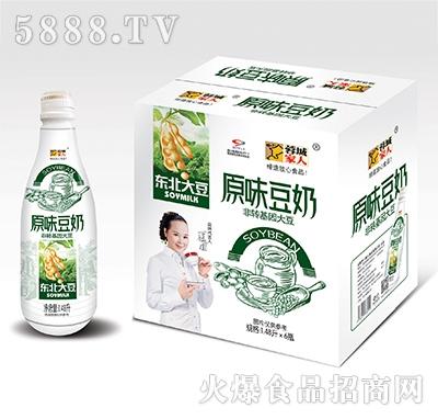 蓉城家人原味豆奶1.48Lx6瓶