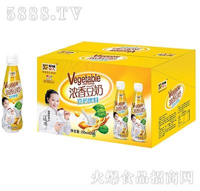 蓉城家人浓香豆奶330mlx24瓶