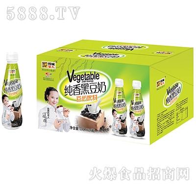 蓉城家人纯香黑豆奶330mlx24瓶