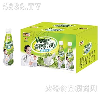 蓉城家人冰爽绿豆奶330mlx24瓶