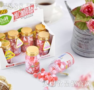 明之堂维C加锌软糖草莓味