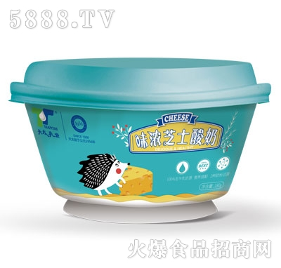 新天太乳业浓味芝士酸奶产品图