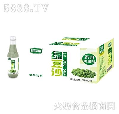 新雨瑞绿豆沙植物饮料288mlx24瓶产品图