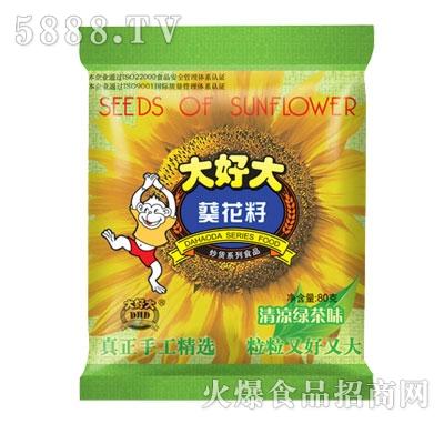 大好大葵花籽清凉绿茶味80克