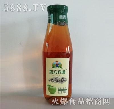 杰夫农场苹果汁饮料1000ml瓶