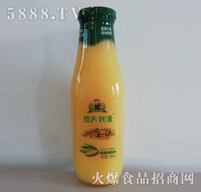 杰夫农场玉米汁饮料1000ml瓶