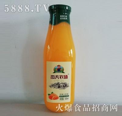 杰夫农场芒果汁饮料1000ml瓶