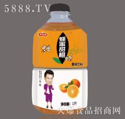 伊思源蜂蜜甜橙果味饮料1升