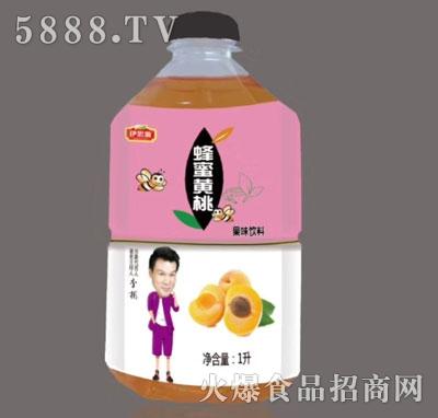 伊思源蜂蜜黄桃果味饮料1升