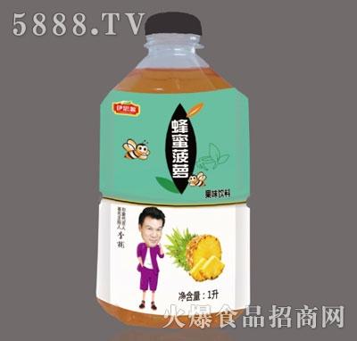 伊思源蜂蜜菠萝果味饮料1升