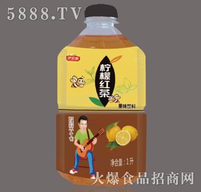 伊思源柠檬红茶果味饮料1升