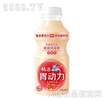 畅活胃动力乳酸菌草莓味340ml