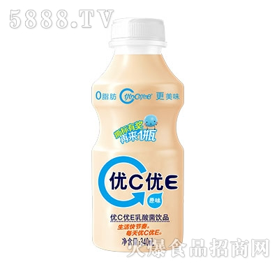 优C优E乳酸菌饮品340ml