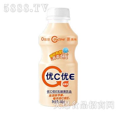 优C优E乳酸菌饮品甜橙味340ml