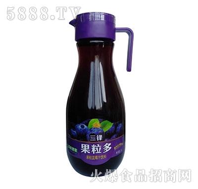 三锋果粒多蓝莓汁饮料1.5L