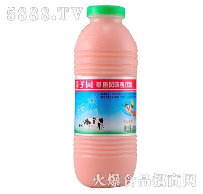 李子园草莓风味乳饮料280ml
