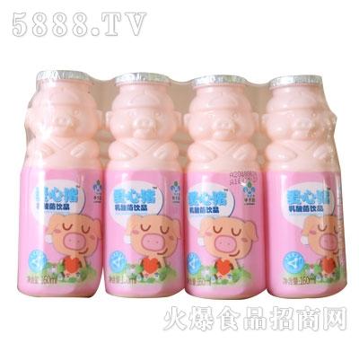 爱心猪乳酸菌饮品