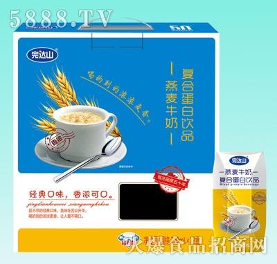 完达山燕麦牛奶200mlX12盒
