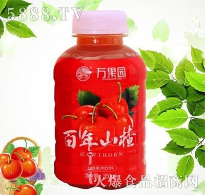 万果园百年山楂山楂汁350ml
