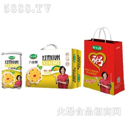 养生冠红枣小米八宝粥320ml