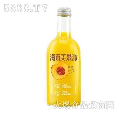 海南美果派黄桃味果汁饮料