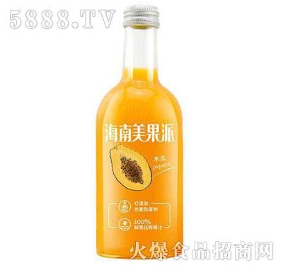 海南美果派木瓜味果汁饮料