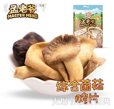 孟老爷综合菌菇脆片25g