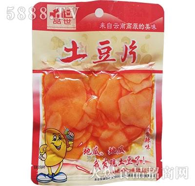 品世土豆片香辣味108g
