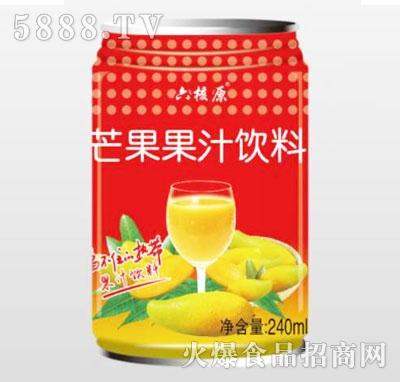 六核原芒果果汁饮料240ml