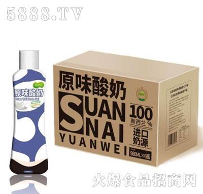稻米香原味酸奶980mlx6瓶