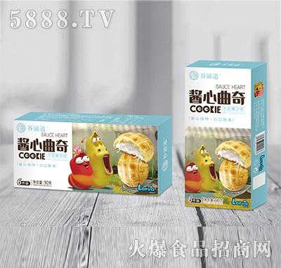 谷滋道酱心曲奇牛奶椰子味90克x6粒
