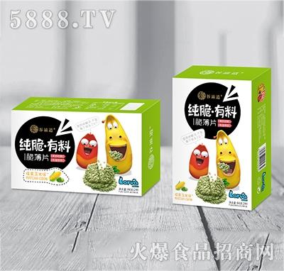 谷滋道纯脆有料脆薄片抹茶玉米味84克x2件