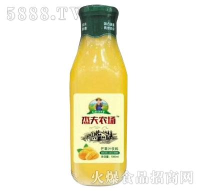 杰夫农场玉芒果汁饮料1000ml