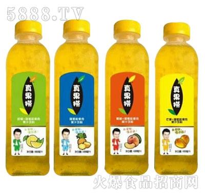真果捞果肉果汁饮料系列产品图