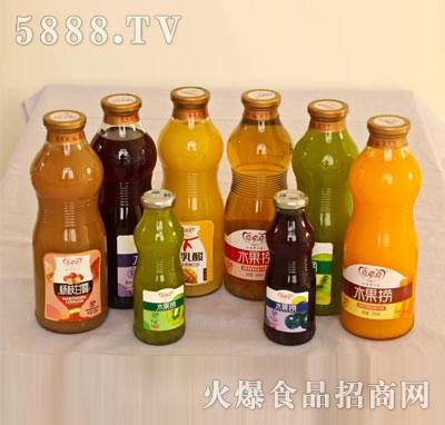 喜牵喜水果捞果汁饮料系列产品图
