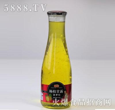 伊思源杨枝甘露菠萝粒真果肉果汁饮料产品图