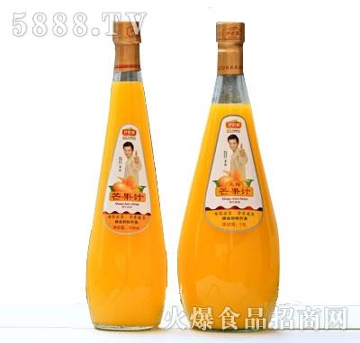伊思源生榨芒果汁瓶