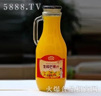 伊思源生榨芒果汁饮料1.5L