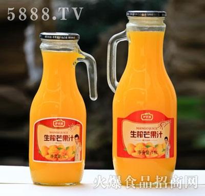 伊思源生榨芒果饮料1L、1.5L