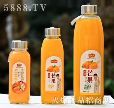 伊思源生榨果汁饮料系列420ml瓶