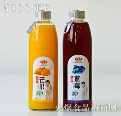 伊思源生榨果汁饮料1升