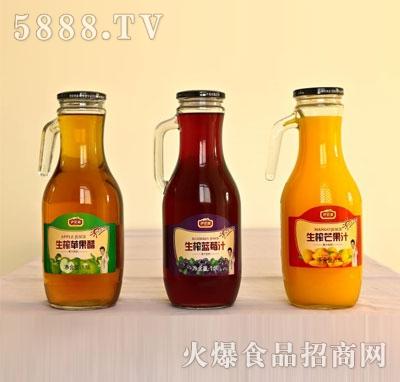 伊思源生榨果汁饮料1.5L