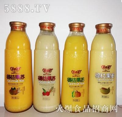 提拉果苏复合果汁饮料1L产品图