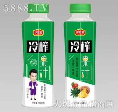 伊思源冷榨果汁复合果汁饮料500ml瓶产品图