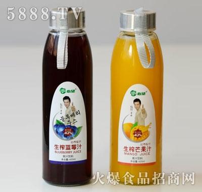 心望生榨果汁饮料420ml