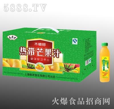 真吾堂热带芒果汁