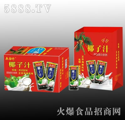 �o唐坊椰子汁植物蛋白饮料(箱)