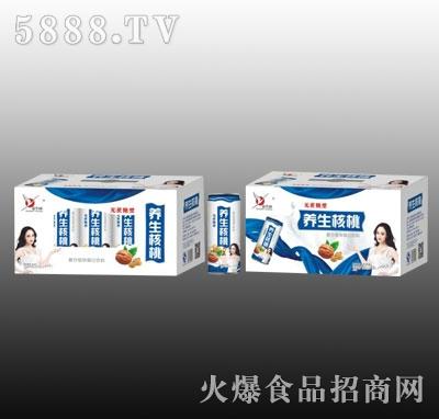 益生园养生核桃复合蛋白饮料(箱)