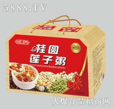 欧珍桂圆莲子粥礼盒产品图