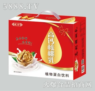 欧珍高钙核桃乳植物蛋白饮料礼盒装产品图